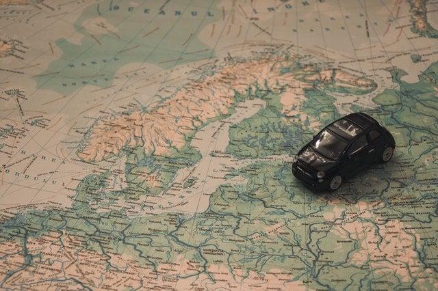 wynajem samochodu za granicą