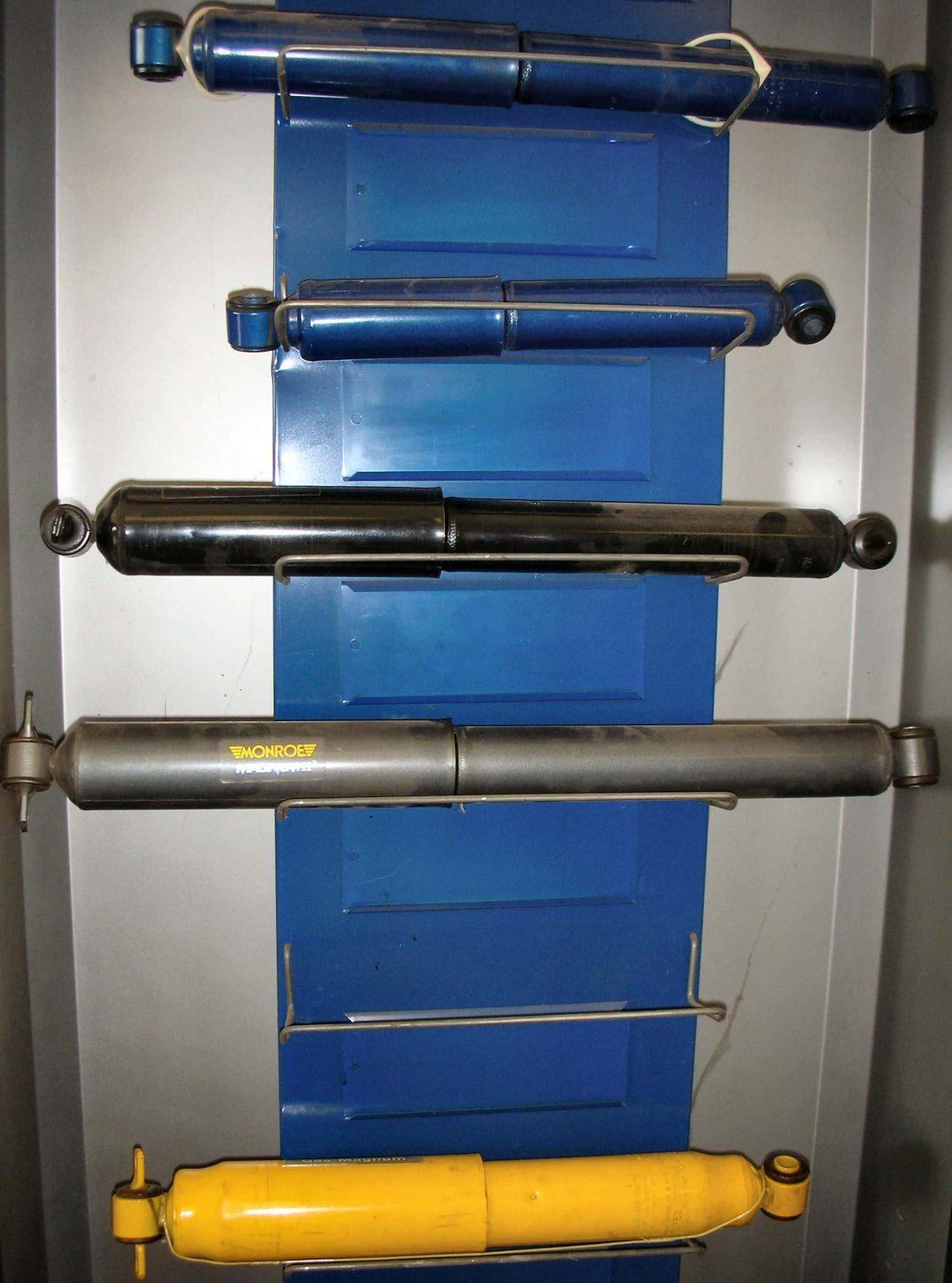 Amortyzatory olejowe a gazowo – olejowe
