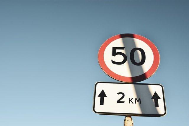 Ograniczenie prędkości odcinka