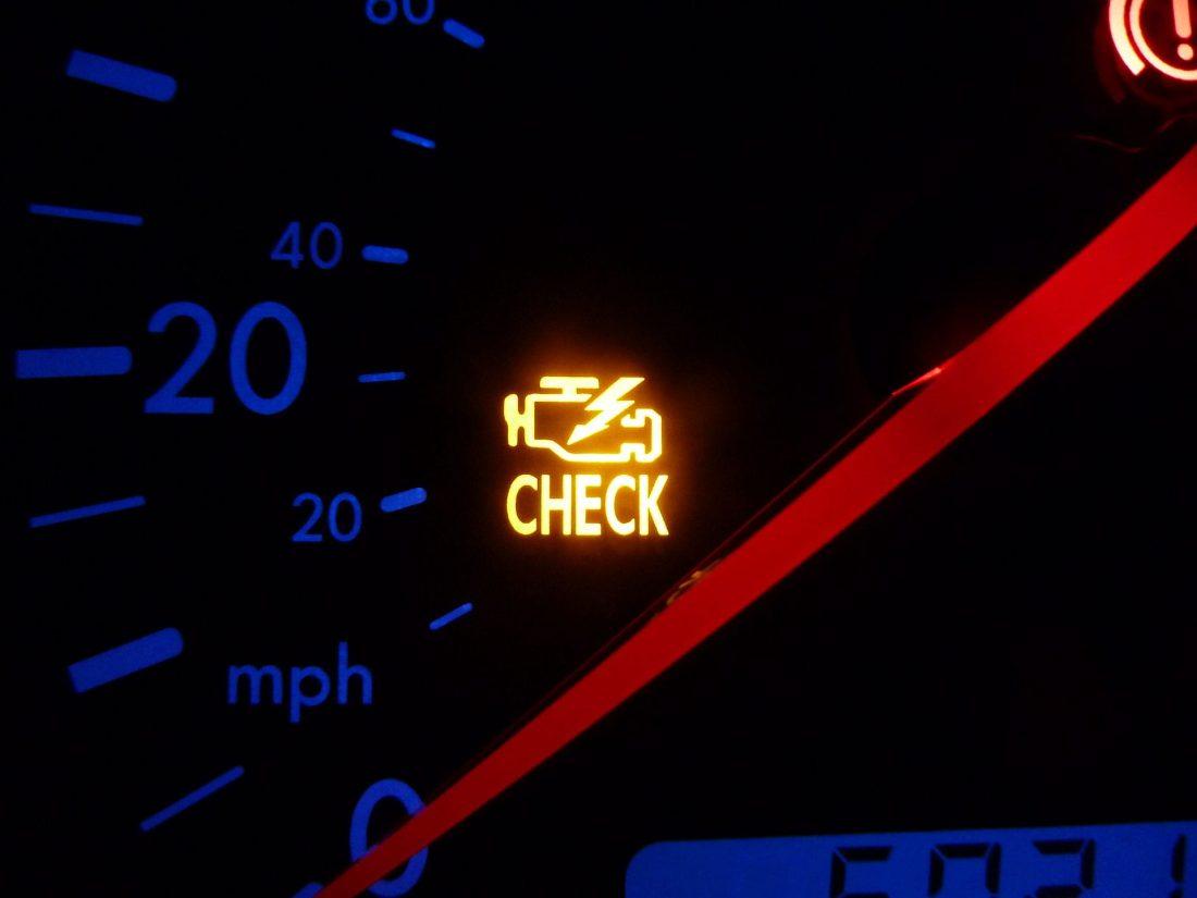 check engine przyczyny
