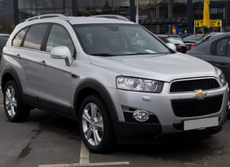 chevrolet captiva wady