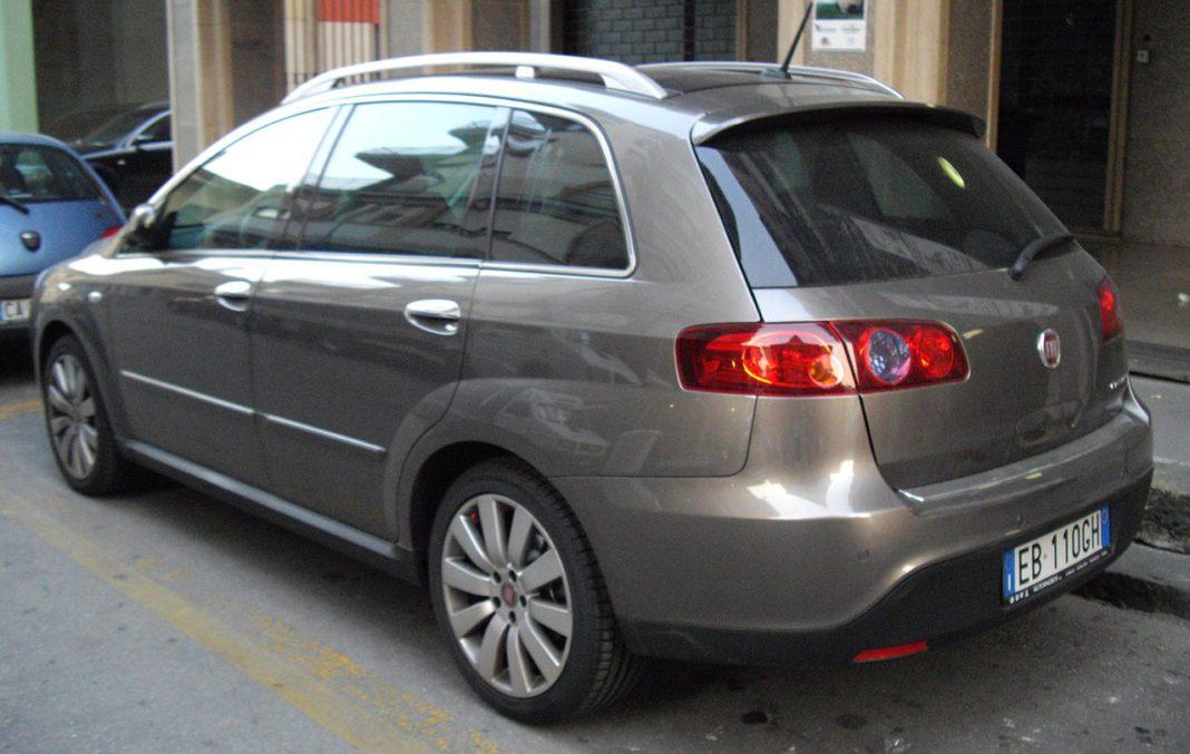 Fiat Croma – tył po liftingu